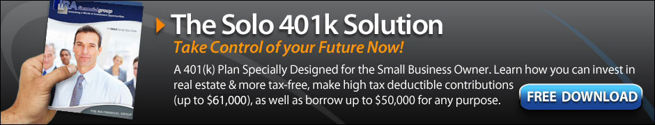 IRA Financial Group - Leading Provider of Self Directed IRA and Solo 401K Plans