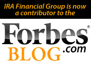 IRA Financial Group is now a contributor to the Forbes blog