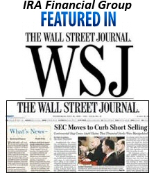 IRA Financial Group Featured in Wall Street Journal
