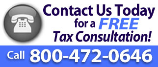 Contact us today for a free tax consultation