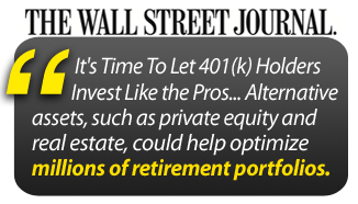 It's Time To Let 401(k) Holders Invest Like the Pros