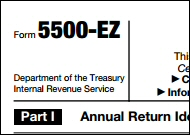 Learn How to Complete IRS Form 5500EZ For Your Solo 401K Plan