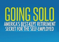 The New Book by Adam Bergman, Going Solo - America's Best-Kept Retirement Secret For The Self Employed