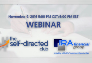 Self-Directed Club: The Self-Directed Wealth Summit Event Webinar