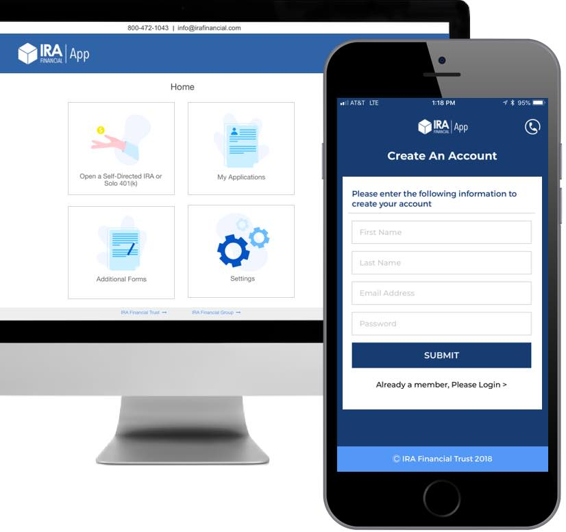 IRA Financial App