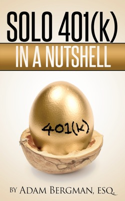 solo 401(k) book by Adam Bergman