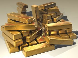price of gold soars