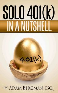 Book Cover: Solo 401(k) in a Nutshell