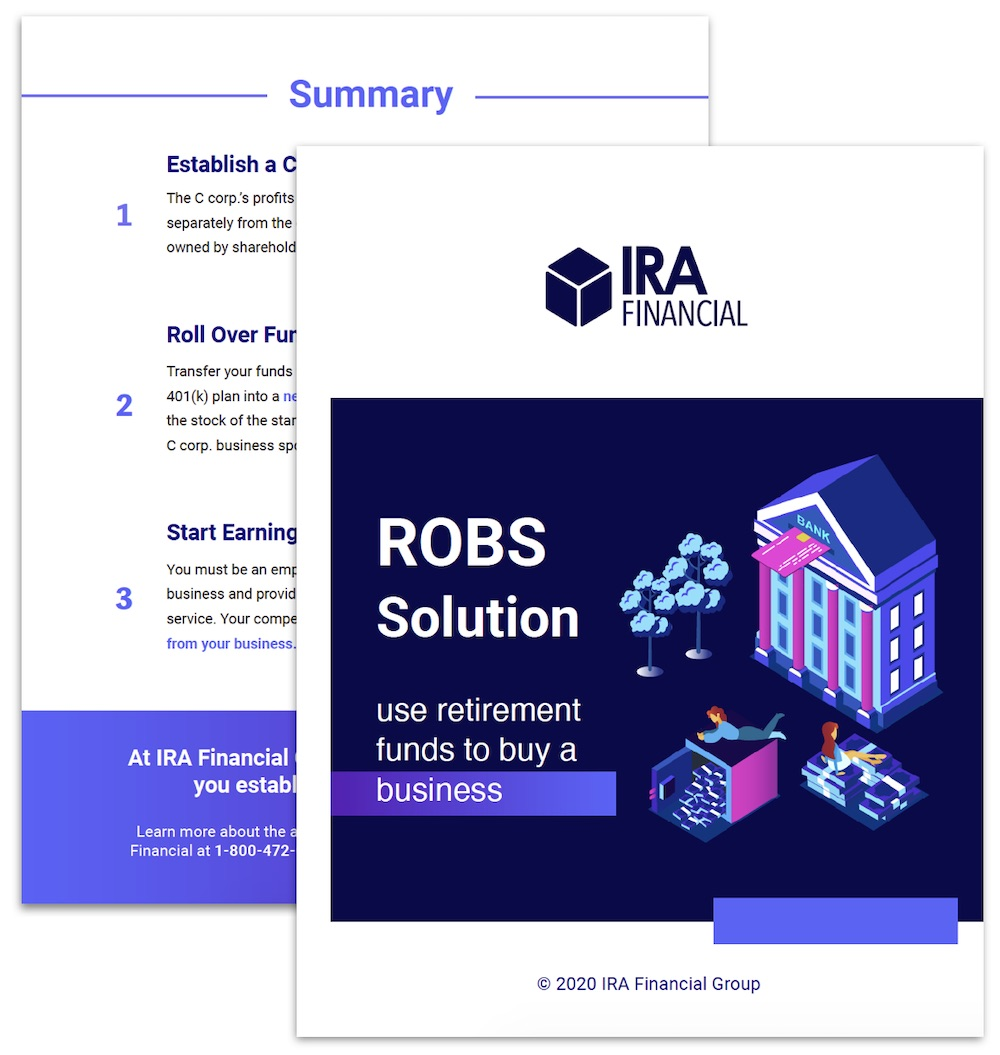 ROBS Solution Info Kit