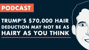 Trump's $70000 Hair Deduction