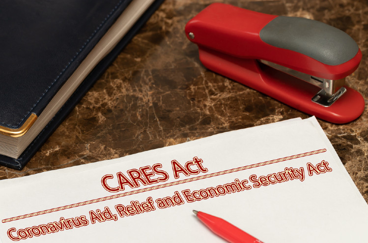 Reporting a CARES Act distribution
